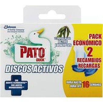 Pato Discos agentes blanqueantes 12 unid