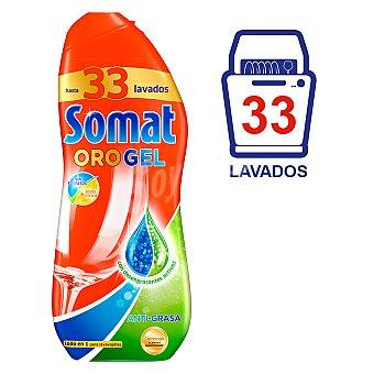 Somat Gel lavavajillas anti-grasa 33 lavados