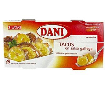 Dani Calamares en Salsa Gallega en Tacos 2x75g