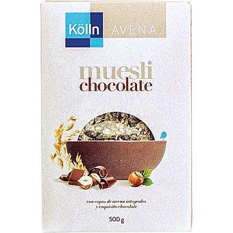KOLLN Choco Muesli Cereales de desayuno Paquete de 500 g