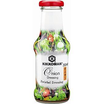 KIKKOMAN aderezo de cebolla para ensaladas botella 250 ml