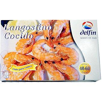 Delfín Langostino cocido 40-60 piezas Estuche 800 g neto escurrido