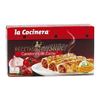 La Cocinera Canelones de carne Recetas Artesanas estuche 530 g