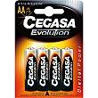 Evolution pila ultra alcalina AA (LR6) 1,5v Blister 4 unidades Cegasa