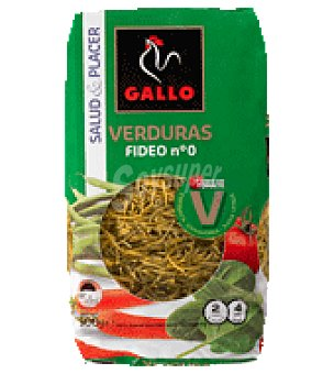 Gallo Fideo nº 0 con verduras 500 g