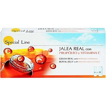 Special Line Jalea real con propóleo y vitamina C envase 10 unidades Envase 10 unidades