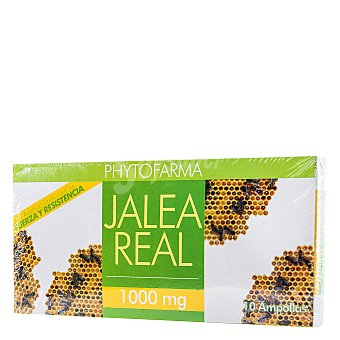 Phytofarma Jalea real ampollas 100 ml