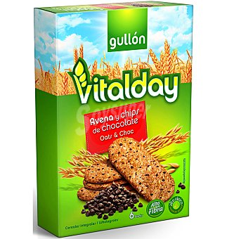 Gullón Galleta vitalday avena chip chocolate 240 g