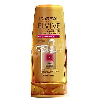 Elvive L'Oréal Paris Crema suavizante nutritiva con aceite extraordinario para cabello seco 250 ml