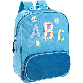 HUAMIN Mochila infantil de abecedario en color azul