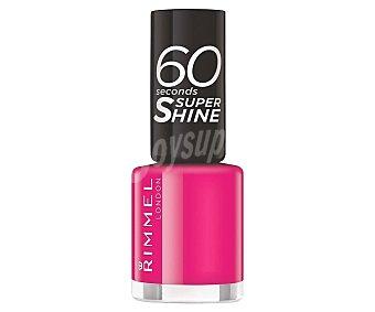 Rimmel London Esmalte de uñas tono 323 Funtime fuschia seconds super shine 60 seconds super shine