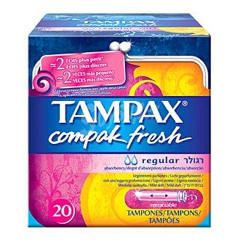 Tampax Tampones con aplicador Fresh regular Caja de 20 uds