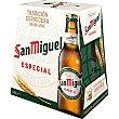 Cerveza botella 6 x 25 cl San Miguel