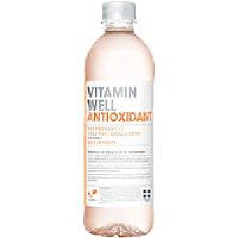 Vitamin well car Agua antioxidant sabor melocotón Botella 50 cl