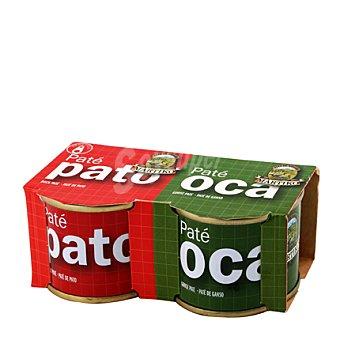 Martiko Paté de pato-oca Pack 2x70 g