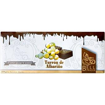 BELL PRAZER Turrón de chocolate con Albariño  tableta 300 g