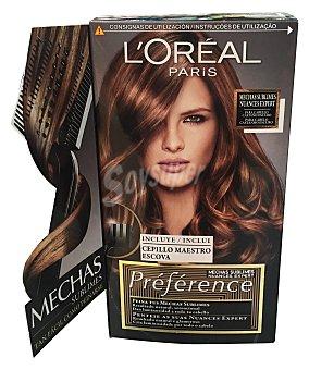 L'OREAL Mechas sublimes 04 cabello castaño oscuro (incluye cepillo maestro escoba) 1 unidad