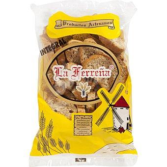La Ferreña Biscotes de pan tostado integral bolsa 250 g bolsa 250 g