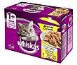Comida para gatos húmeda a base de aves 12 uds. 100 g Whiskas