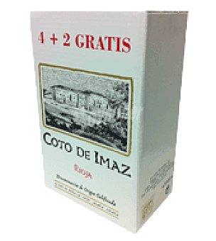 El Coto Vino D.O rioja imaz reserva 4 botellas de 50 cl