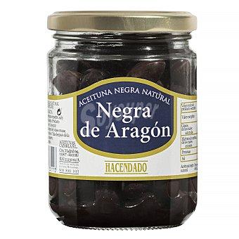 Hacendado Aceituna negra aragon Tarro 250 g