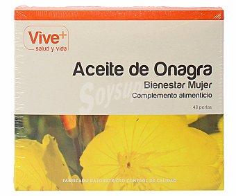 Vive+ Complemento alimenticio de aceite de onagra (bienestar mujer)  48 ud