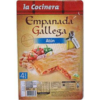 La Cocinera Empanada gallega atun Estuche 8x500gr