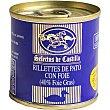 Rillettes de pato con foie gras lata 200 G Lata 200 g Selectos de castilla