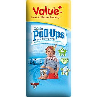 HUGGIES PULL UPS Bragapañal niño Talla M Paquete 54 unid