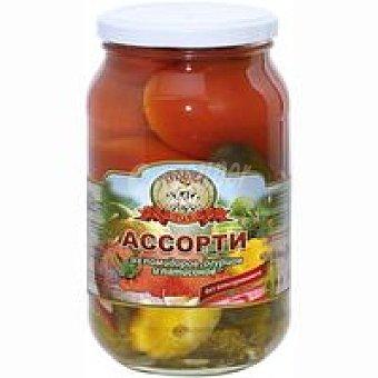 Tpouka Surtido de tomates y calabacines 860GR