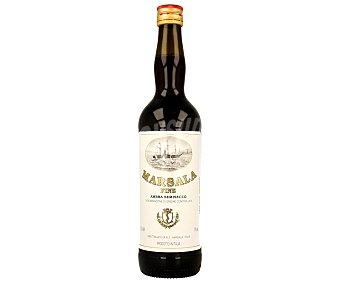 MARSALA Vino tinto semiseco Botella de 75 cl