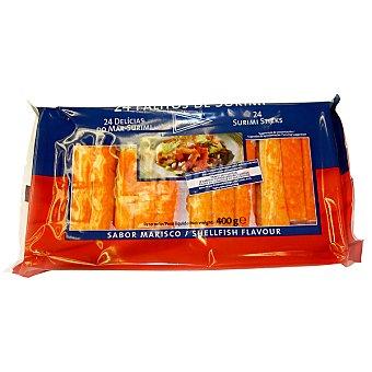 Hipercor Barritas de surimi estuche 400 g 24 unidades