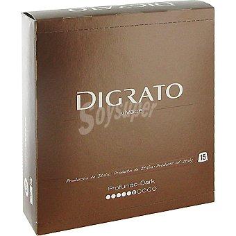 Digrato Café molido de Tueste Natural Cápsulas - Intensidad 6 - Vivace 15 c - Estuche 90 gr
