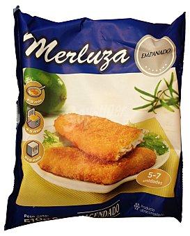 HACENDADO Merluza congelada filete empanado Paquete 5/7 unidades