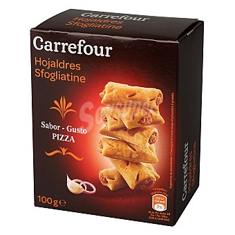 Carrefour Galleta salada sabor pizza 100 g