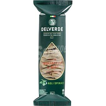 Delverde Tagliatelle a las espincacas Paquete 250 g