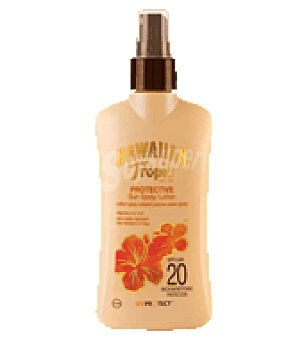 Hawaiian Tropic Loción prot sp 20 200 ml