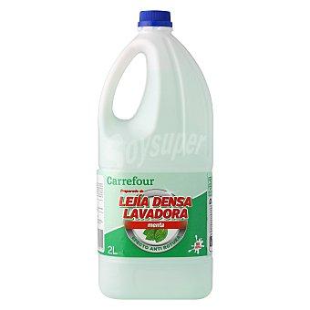 Carrefour Lejía densoactiva perfume menta con fibroprotectores 2 l