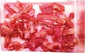 EGATESA Cerdo costilla salada troceada fresca 100 g