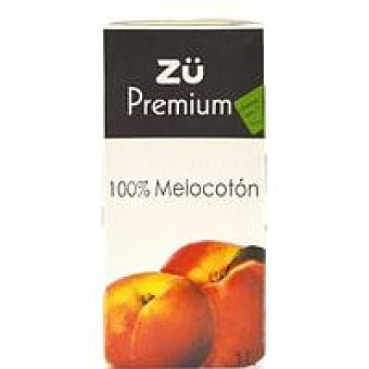 Zü Premium zumo 100% melocotón 1l