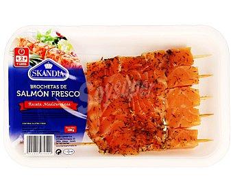 Skandia Brochetas de salmón fresco (receta mediterránea) 165 g