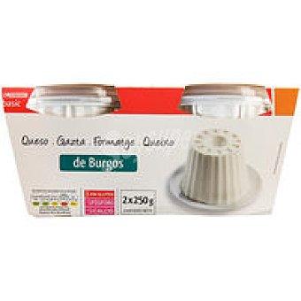 Eroski Basic Queso de Burgos Pack 2x250 g