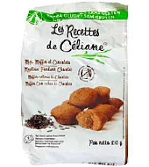 Les Recettes de Celiane Magdalenas de cacao sin gluten 210 g