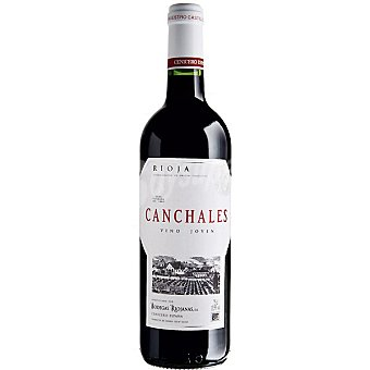 CANCHALES Vino tinto joven D.O. Rioja  Botella de 75 cl