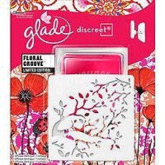 Glade Discreet Ambientador  Electrico Floral Groove 1 unidad