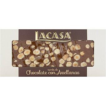 Lacasa Turrón praliné de chocolate con avellanas Calidad Suprema Tableta 250 g