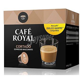 Café Royal Café cortado compatibles con Dolce Gusto Caja 16 cápsulas