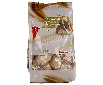 Auchan Almendras rellenas de chocolate 150 gramos
