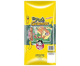 Risi Gusanitos pack 6 uds. x 18 g