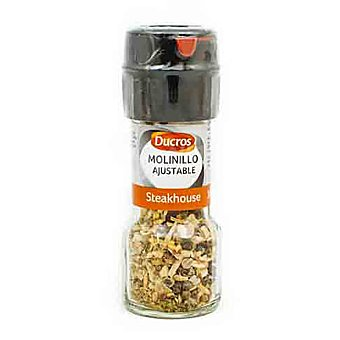 Ducros Molinillo ajustable steakhouse Frasco 38 gr